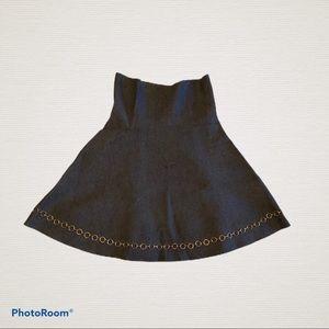 Zara Knit Mini Skirt (Size S)
